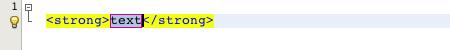 Basic zen-coding NetBeans example
