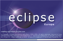 Eclipse Splash Screen